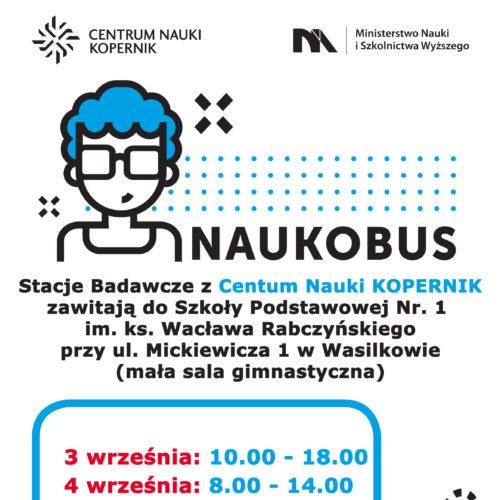 Plakat NAUKOBUS