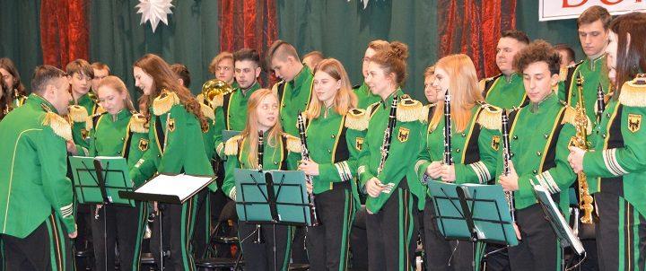 Doroczny koncert Młodzieżowej Orkiestry Dętej z Wasilkowa