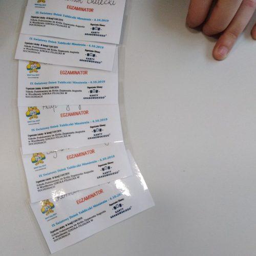 Dzień Tabliczki mnożenia w Sochoniach (1)