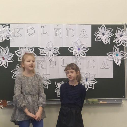 Konkurs kolędniczy w Szkole Filialnej w Sochoniach