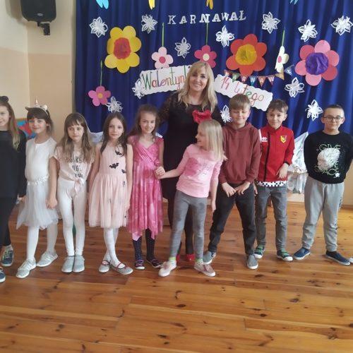 Bal Walentynkowy w Szkole Filialnej w Sochoniach