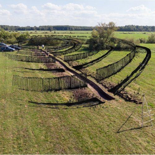 1.Badania archeologiczne na obiekcie obronnym w Kosciukach, rys A. Wawrusiewicz
