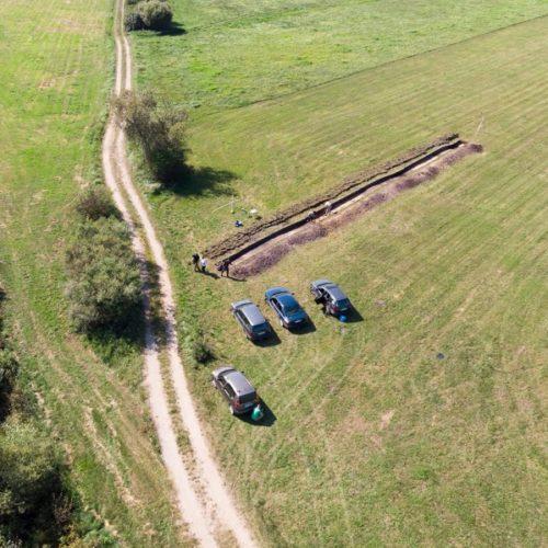 2.Badania archeologiczne w Kościukach Fot. P. Ejsmont