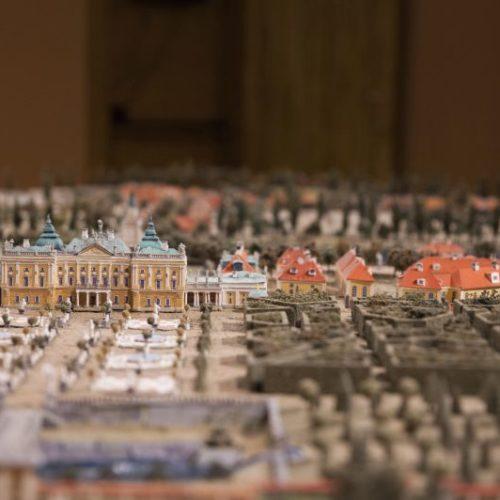Makieta barokowego Białegostoku w Muzeum Historycznym w Białymstoku