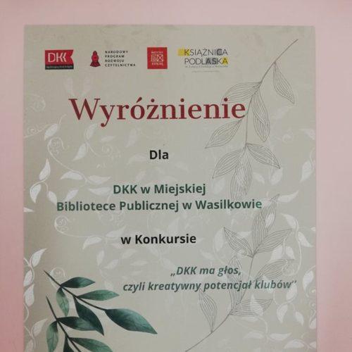 Wyróżnienie DKK